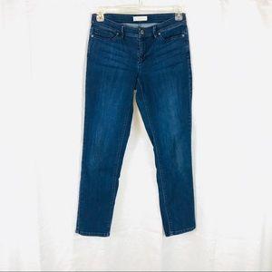 J JILL Authentic Fit Slim Leg Jeans 6